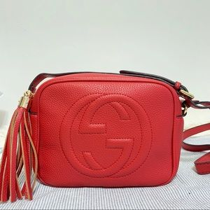 Handbags - Gucci 8 x 6 x 3 red